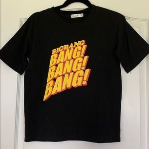 🛍 3/$25 Big Bang Black T-shirt ☆